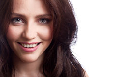 Young beautiful happy woman Royalty Free Stock Images