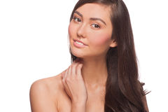Young beautiful healthy woman Stock Photography