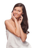 Young beautiful healthy woman Royalty Free Stock Image