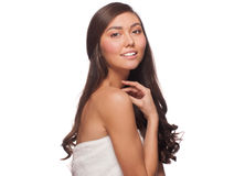 Young beautiful healthy woman Royalty Free Stock Images