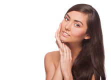 Young beautiful healthy woman Royalty Free Stock Photos