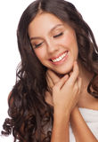 Young beautiful healthy woman Royalty Free Stock Photography