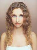 Young beautiful lady royalty free stock photos