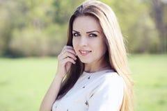 young beautiful lady Stock Photo