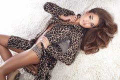 Young Beautiful Lady Posing. Stock Image