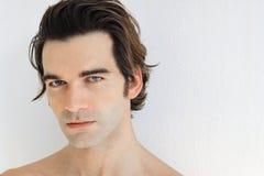 Young beautiful man Stock Photo