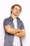 Young beautiful man Stock Image