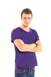 The young beautiful man Stock Photography
