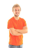 The young beautiful man Royalty Free Stock Photo