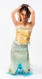 Young beautiful mermaid Royalty Free Stock Photography