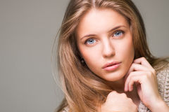 Young beautiful model Royalty Free Stock Image