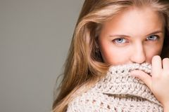 Young beautiful model Royalty Free Stock Images