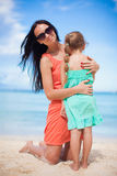 Young beautiful mother and her adorable little Stock Photo