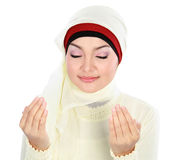 Young Woman Praying Royalty Free Stock Image