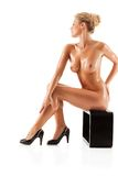 Young beautiful naked woman Stock Photo