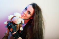 Young beautiful punk girl Royalty Free Stock Image