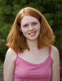 Young Beautiful Redhead Royalty Free Stock Photo