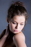 Young beautiful sensual woman Stock Photography