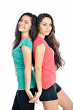 Young beautiful sisters Royalty Free Stock Photos
