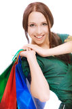 Young beautiful smiling woman Royalty Free Stock Photography