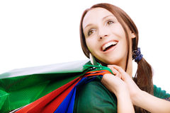 Young beautiful smiling woman Stock Photo