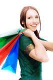 Young beautiful smiling woman Stock Images