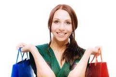 Young beautiful smiling woman Stock Photos