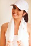 Young beautiful sport woman Stock Image
