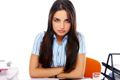 Young and beautiful student girl Royalty Free Stock Photography