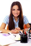 Young and beautiful student girl Stock Photos