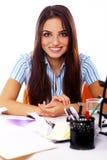 Young and beautiful student girl Stock Photos
