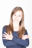 Young beautiful teen girl Royalty Free Stock Image