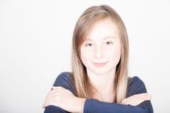 Young beautiful teen girl Stock Photos