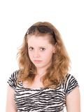 Young beautiful teenager girl with sunglasses Royalty Free Stock Images