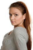 Young beautiful woman. Royalty Free Stock Photo