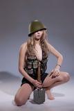 Young Beautiful Woman Stock Photos