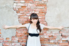 Young beautiful woman Stock Photography