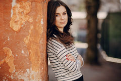 Free Young Beautiful Woman Stock Image - 54117891
