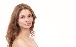 Young beautiful woman Stock Image