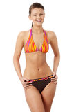 Young beautiful woman in bikini Royalty Free Stock Photo