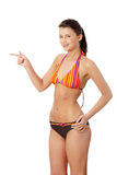 Young beautiful woman in bikini Stock Photography