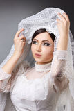 Young woman is bride Royalty Free Stock Photos