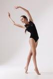 Young beautiful woman dancer Royalty Free Stock Photo