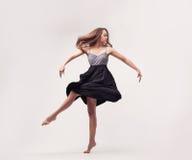 Young beautiful woman dancer posing Stock Photography
