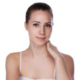 Young beautiful woman with healthy skin Royalty Free Stock Images