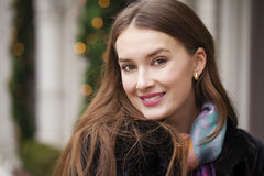 Free Young Beautiful Woman In Stylish Mink Coat Royalty Free Stock Photo - 64475745