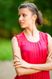 Young beautiful woman looking away Royalty Free Stock Image