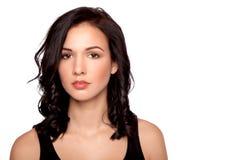 Young beautiful woman looking at camera Stock Image