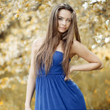 Young beautiful woman - outdoor portrait Royalty Free Stock Photos