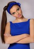 Young beautiful woman with perfect natural makeup Stock Image